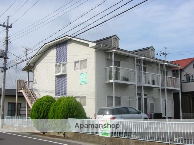 茨城県笠間市、友部駅徒歩31分の築28年 2階建の賃貸アパート