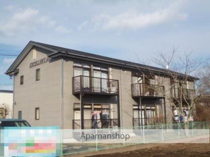 茨城県笠間市、友部駅徒歩33分の築21年 2階建の賃貸アパート
