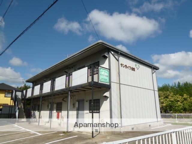 茨城県笠間市、友部駅徒歩72分の築23年 2階建の賃貸アパート