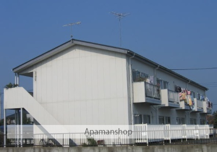 茨城県笠間市、友部駅徒歩23分の築30年 2階建の賃貸アパート