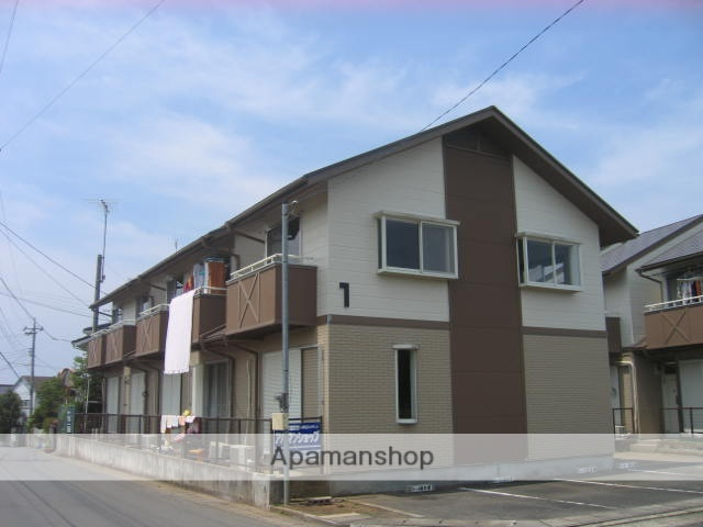 茨城県笠間市、友部駅徒歩48分の築25年 2階建の賃貸アパート