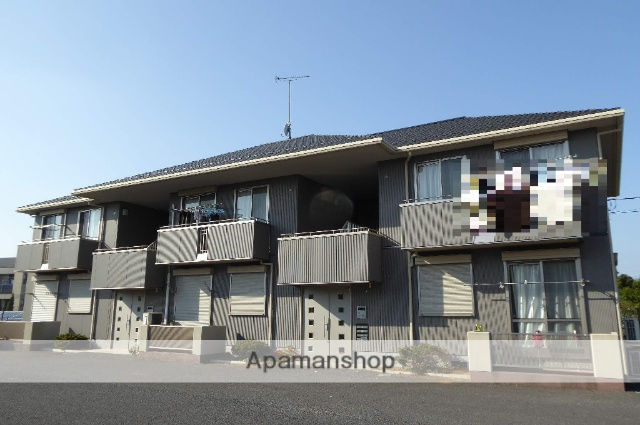 茨城県笠間市、友部駅徒歩40分の築8年 2階建の賃貸アパート