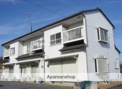 茨城県笠間市、友部駅徒歩25分の築28年 2階建の賃貸テラスハウス