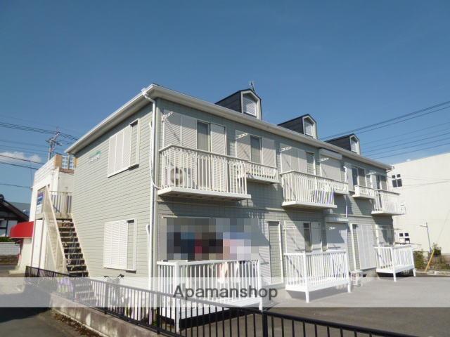 茨城県笠間市、友部駅徒歩5分の築24年 2階建の賃貸アパート