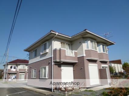 茨城県筑西市、黒子駅徒歩4分の築17年 2階建の賃貸アパート