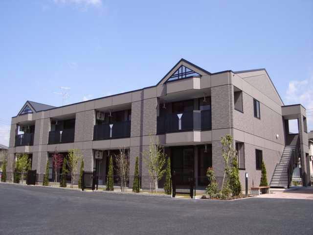 茨城県石岡市の築10年 2階建の賃貸アパート