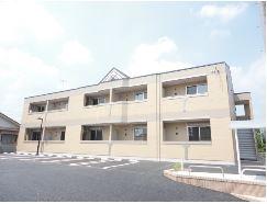 茨城県石岡市の築1年 2階建の賃貸アパート