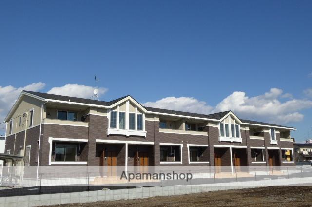 茨城県笠間市、友部駅徒歩13分の築1年 2階建の賃貸アパート