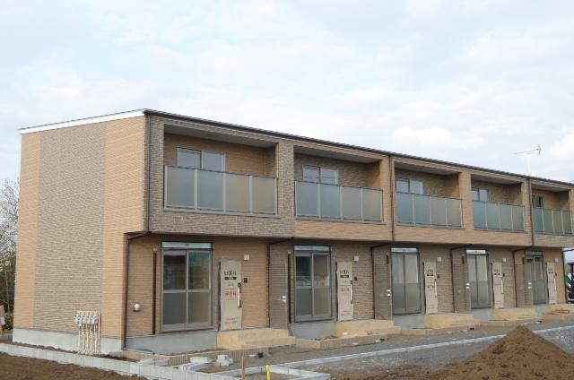 茨城県笠間市の新築 2階建の賃貸テラスハウス