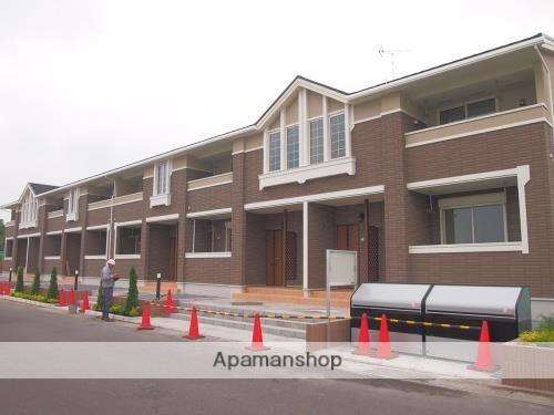 茨城県笠間市、友部駅徒歩11分の築1年 2階建の賃貸アパート