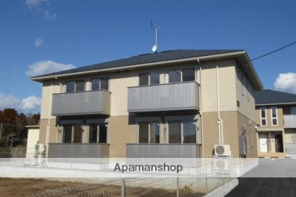 茨城県笠間市、友部駅徒歩19分の築1年 2階建の賃貸アパート