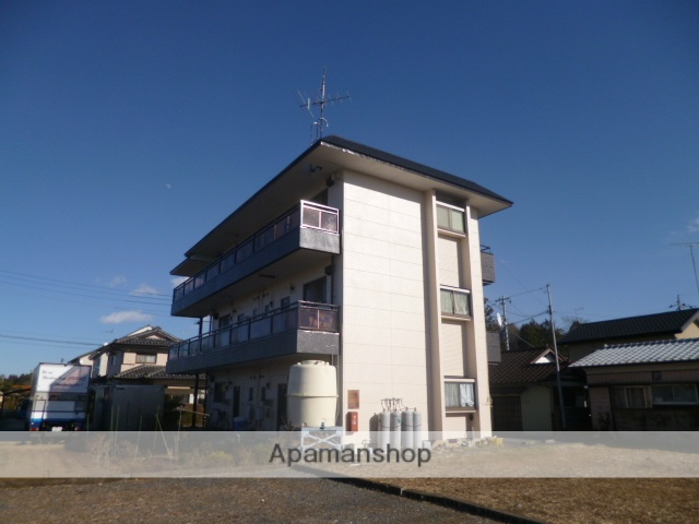 茨城県笠間市の築29年 3階建の賃貸マンション