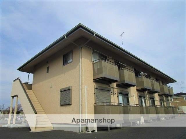 茨城県笠間市、友部駅徒歩19分の築10年 2階建の賃貸アパート