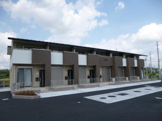 茨城県笠間市、友部駅徒歩15分の新築 2階建の賃貸テラスハウス
