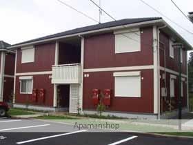 茨城県笠間市、友部駅バス10分柿橋下車後徒歩3分の築13年 2階建の賃貸アパート