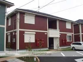 茨城県笠間市の築13年 2階建の賃貸アパート
