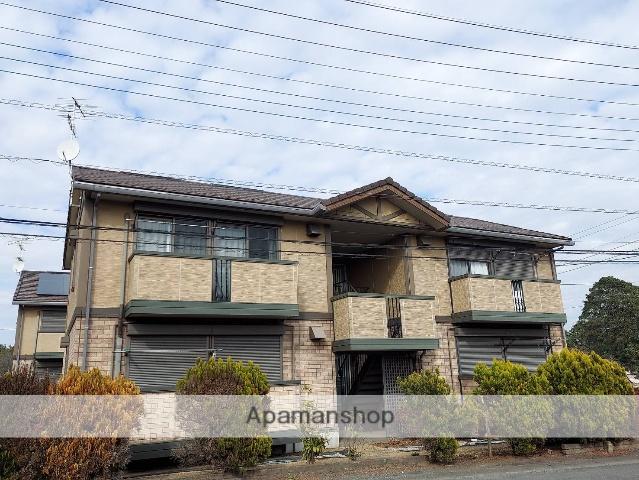 茨城県笠間市の築15年 2階建の賃貸アパート