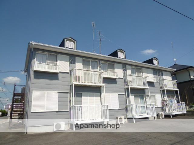 茨城県笠間市、友部駅徒歩8分の築25年 2階建の賃貸アパート