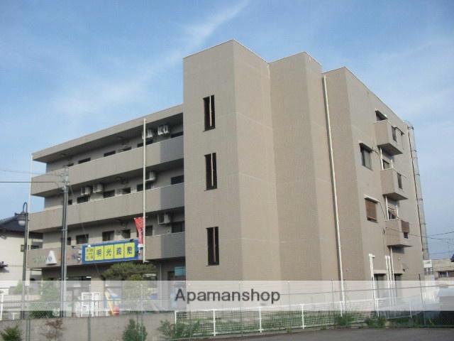 茨城県笠間市、友部駅徒歩5分の築17年 4階建の賃貸マンション