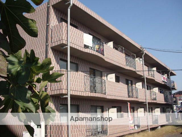 茨城県笠間市、岩間駅徒歩5分の築19年 3階建の賃貸マンション
