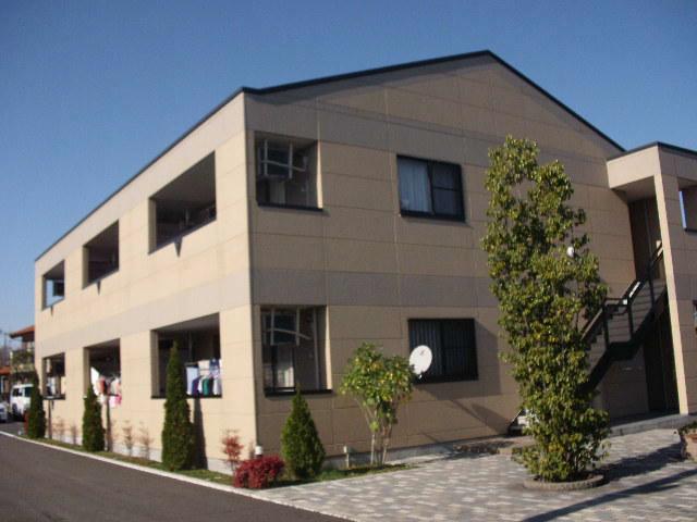 茨城県小美玉市、羽鳥駅徒歩9分の築9年 2階建の賃貸アパート