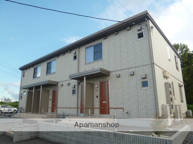 茨城県笠間市、友部駅徒歩30分の築6年 2階建の賃貸アパート