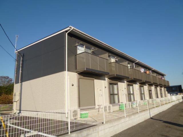 茨城県笠間市、友部駅徒歩30分の築5年 2階建の賃貸テラスハウス