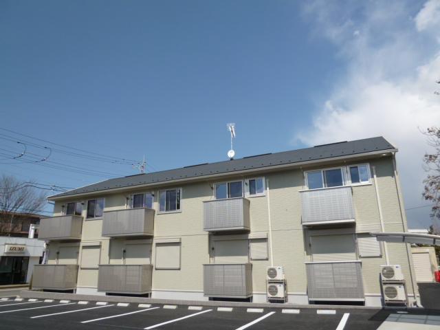 茨城県笠間市、岩間駅徒歩5分の築5年 2階建の賃貸アパート