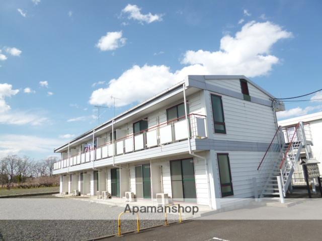 茨城県笠間市、友部駅徒歩40分の築21年 2階建の賃貸アパート