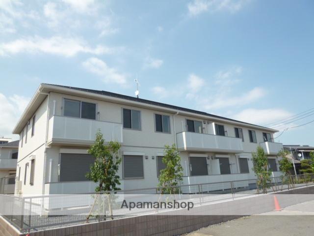 茨城県笠間市、友部駅徒歩5分の築4年 2階建の賃貸アパート