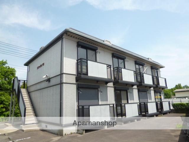 茨城県笠間市、羽鳥駅徒歩100分の築20年 2階建の賃貸アパート
