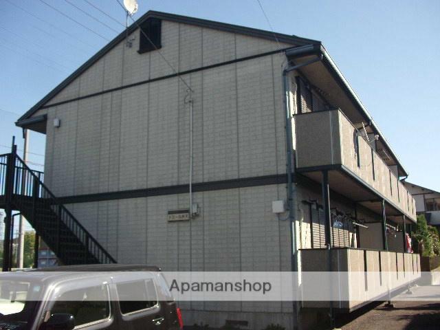 茨城県笠間市、笠間駅徒歩12分の築20年 2階建の賃貸アパート