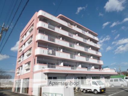 茨城県笠間市、友部駅徒歩16分の築27年 6階建の賃貸マンション
