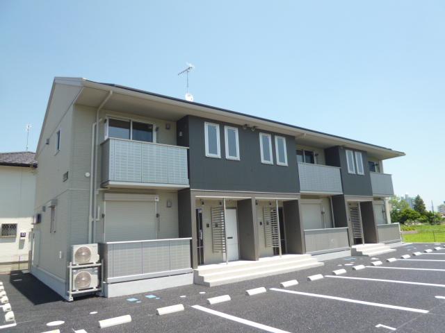茨城県笠間市、友部駅徒歩40分の築3年 2階建の賃貸アパート