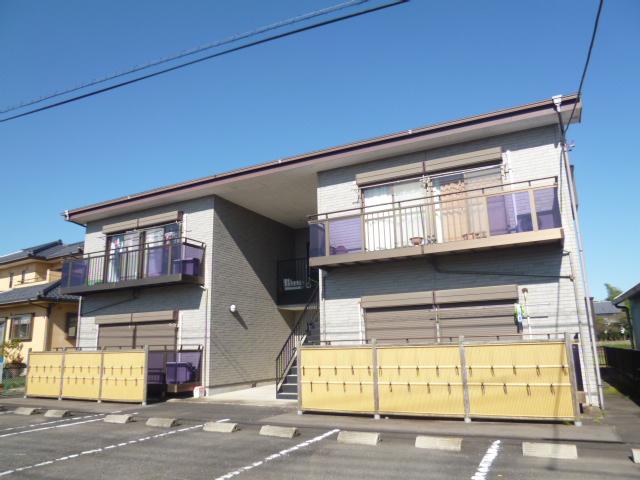 茨城県水戸市、内原駅徒歩8分の築19年 2階建の賃貸アパート