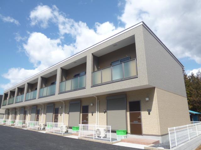 茨城県笠間市、友部駅徒歩30分の築2年 2階建の賃貸テラスハウス