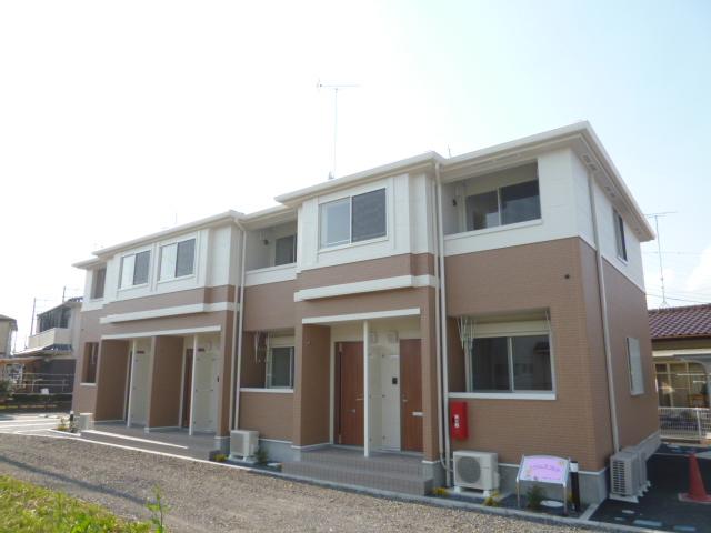茨城県笠間市の築2年 2階建の賃貸アパート