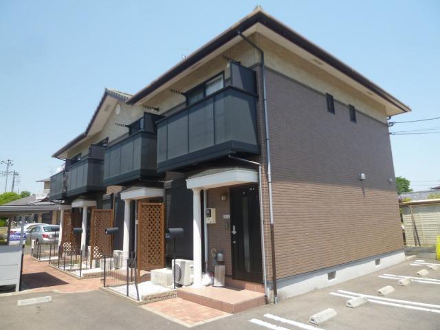 茨城県水戸市、赤塚駅徒歩12分の築9年 2階建の賃貸テラスハウス