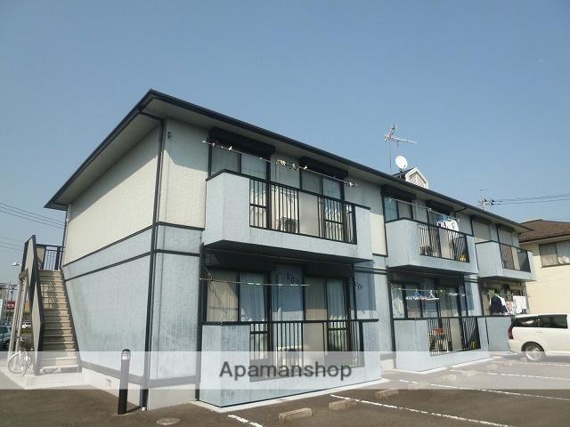 茨城県水戸市、赤塚駅徒歩8分の築19年 2階建の賃貸アパート
