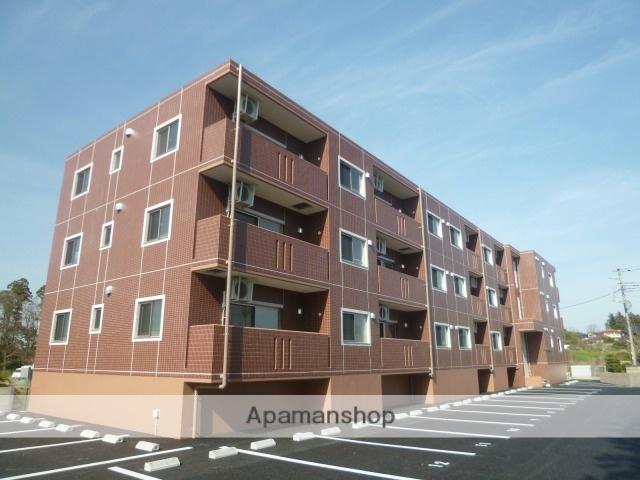 茨城県水戸市、赤塚駅徒歩42分の築1年 3階建の賃貸マンション