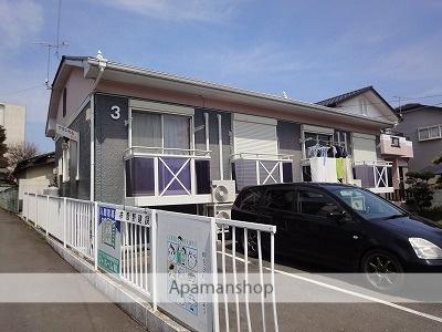 茨城県水戸市、赤塚駅JR東日本バスバス6分岡田下車後徒歩3分の築19年 2階建の賃貸アパート