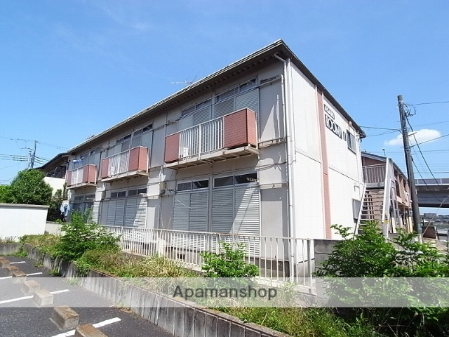 茨城県土浦市、土浦駅徒歩19分の築33年 2階建の賃貸アパート