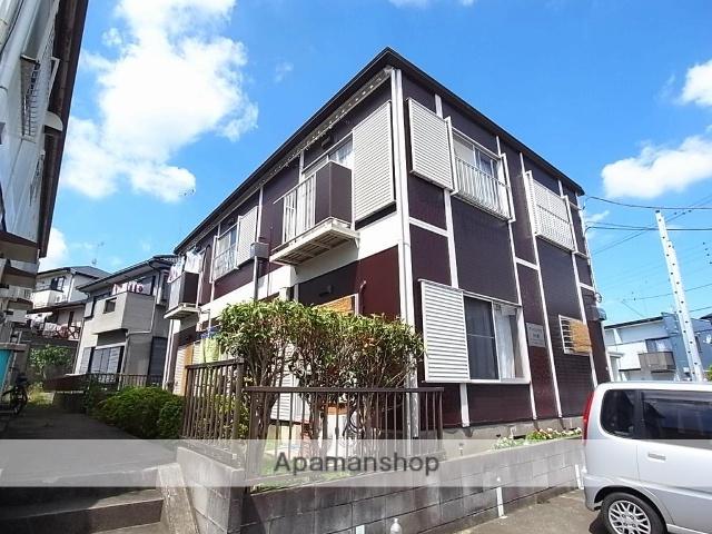 茨城県牛久市、牛久駅徒歩25分の築33年 2階建の賃貸アパート
