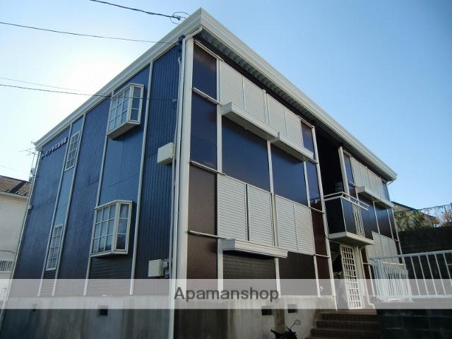 茨城県牛久市、牛久駅徒歩23分の築27年 2階建の賃貸アパート