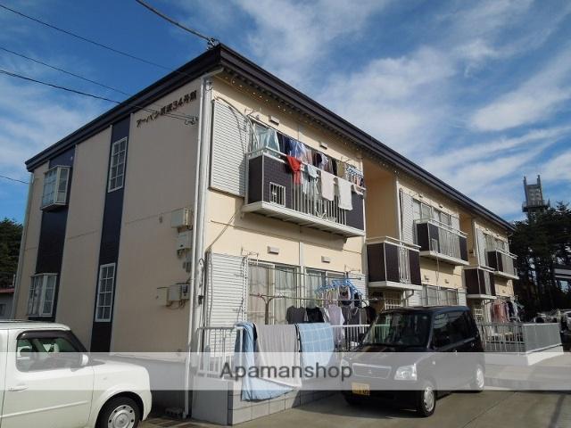 茨城県つくば市、つくば駅バス15分花畑下車後徒歩3分の築27年 2階建の賃貸アパート