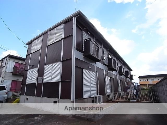 茨城県つくば市、牛久駅関東鉄道バス17分高野台中央下車後徒歩7分の築31年 2階建の賃貸テラスハウス