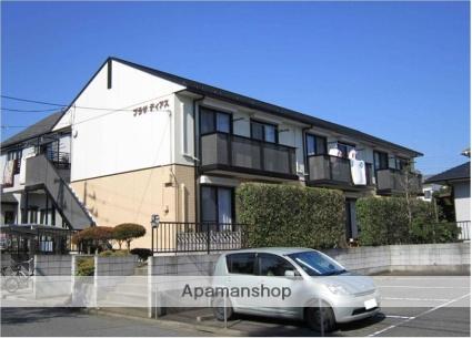 茨城県牛久市、牛久駅徒歩15分の築20年 2階建の賃貸アパート