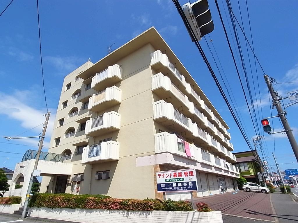 茨城県牛久市、牛久駅徒歩27分の築31年 5階建の賃貸マンション