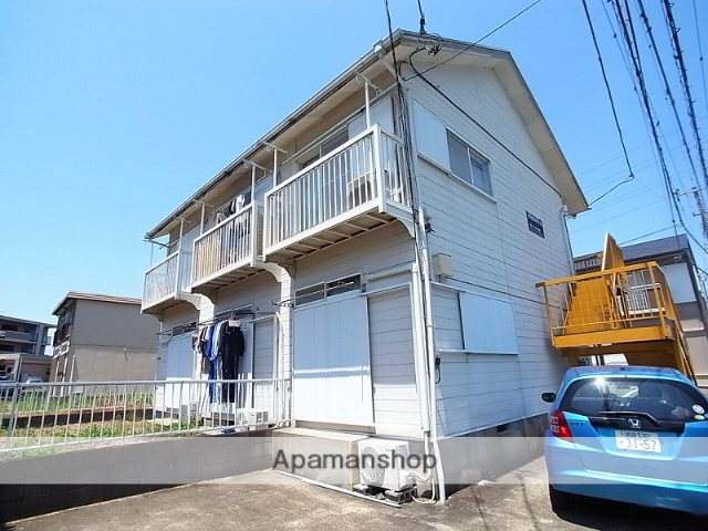 茨城県つくば市、つくば駅バス15分教員研修センター下車後徒歩8分の築27年 2階建の賃貸アパート