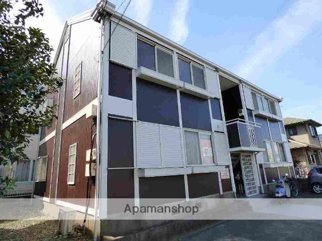 茨城県つくば市、つくば駅バス24分高野台・理化学研究所下車後徒歩2分の築27年 2階建の賃貸アパート